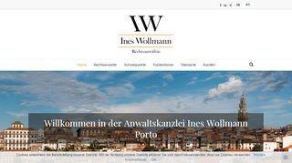 Kanzlei Ines Wollmann in Porto und Bremen