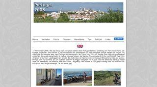 Fietsen in Portugal 2008