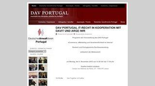 Deutscher Anwaltverein Portugal