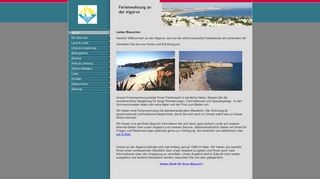 Urlaub an der Algarve - Herzlich Willkommen