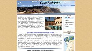 Praia da Luz - Casa Pedrinho