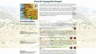 Portugal 2001- Reise durch die Vergangenheit