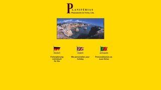 Planiferias, Ihre individuelle Ferienplanung an der Algarve.