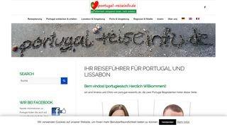 Reiseführer Portugal und Lissabon
