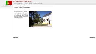 Ferienhaus an der Westalgarve zu vermieten