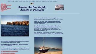 Mitsegeln in Portugal