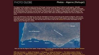 PhotoGlobe - Algarve