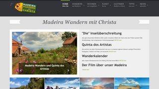 Wandern in Madeira mit Christa Dornfeld