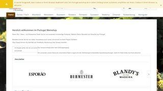 Portugal Weinshop