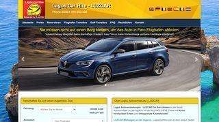 Lagos Car Hire - Luzcar