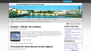 Algarve Infos zu Hotels und Reisen