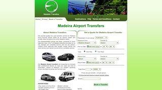 Madeira Flughafen Transfers