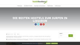 Die besten Surfer Hostels in Lissabon