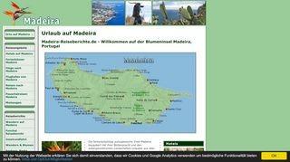 Urlaub auf der Blumeninsel Madeira