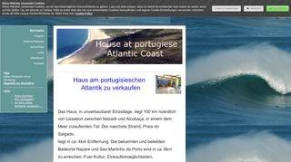 Nazaré: Haus am Atlantik zu verkaufen