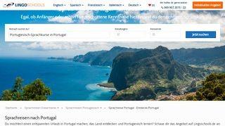 Sprachreisen nach Portugal