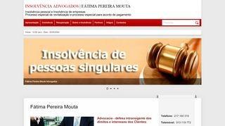 Insolvência Advogados | Fátima Pereira Mouta