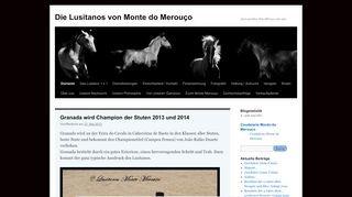 Monte Merouço: Edle Pferde in Portugal