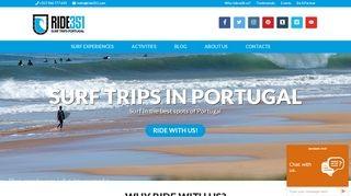 Ride351 Surf Trips Portugal