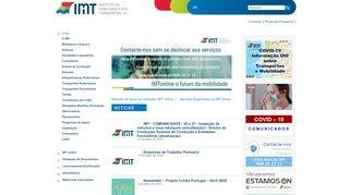 IMTT - Instituto da Mobilidade e dos Transportes Terrestres
