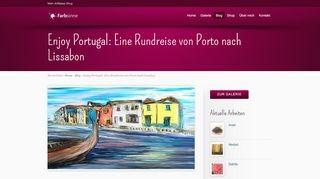 Enjoy Portugal: Eine Rundreise von Porto nach Lissabon
