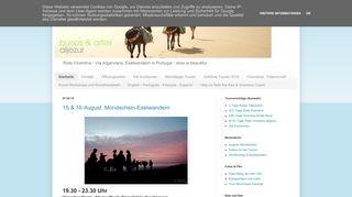 Eselwandern Algarve