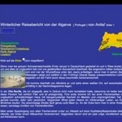 Winterlicher Reisebericht von der Algarve