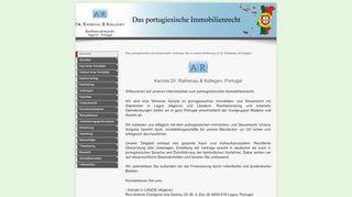 Das portugiesische Immobilienrecht