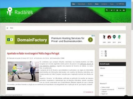 Radares de Portugal: Radarkontrollen in Portugal