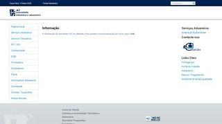 Portal Aduaneiro: Simulator für die Kfz-Zulassungssteuer (ISV)