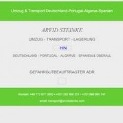 Umzug & Transport Deutschland-Portugal-Algarve-Spanien