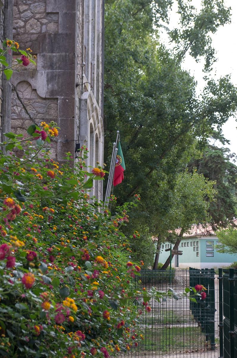 Teil der historischen Residencia