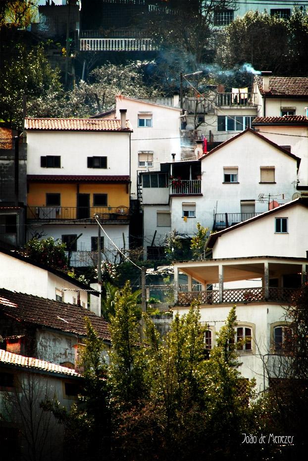 Hauses auf den Berg