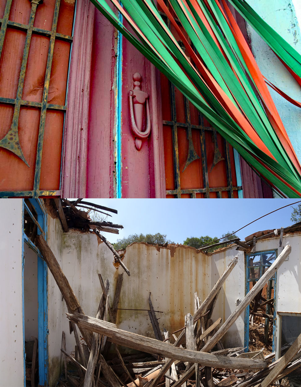 Flohmarkthaus bei Lagos 2006 / 2019