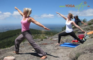 Yoga in der Natur der Algarve